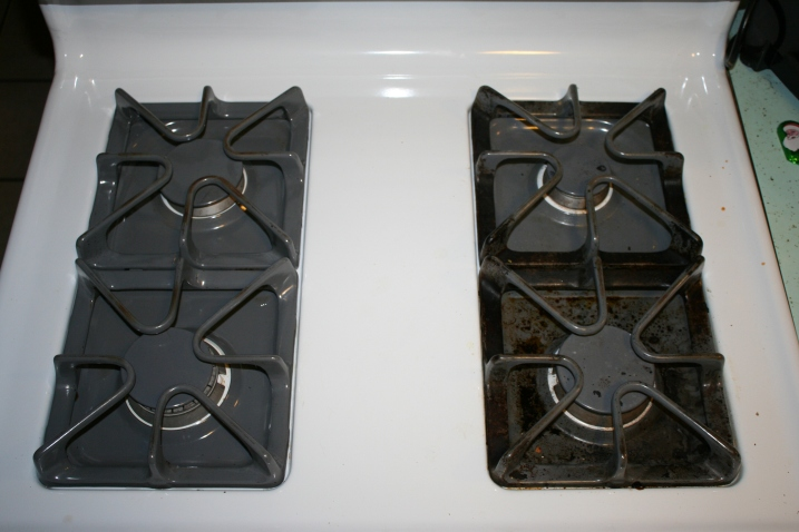 Picture Lisa Stovetop before and after